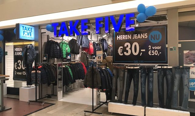 Take Five Heren Discount