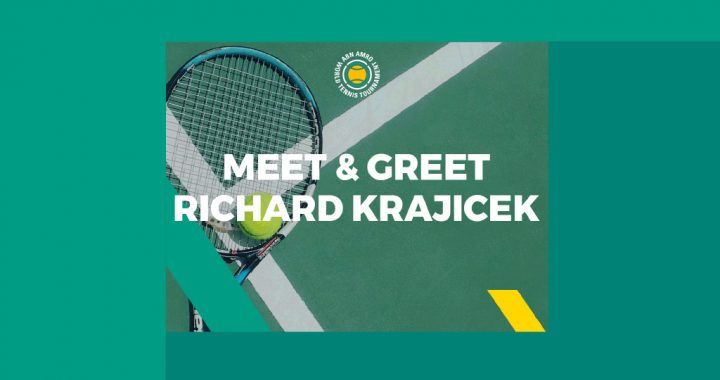 8 feb Meet & Greet Richard Krajicek op Zuidplein